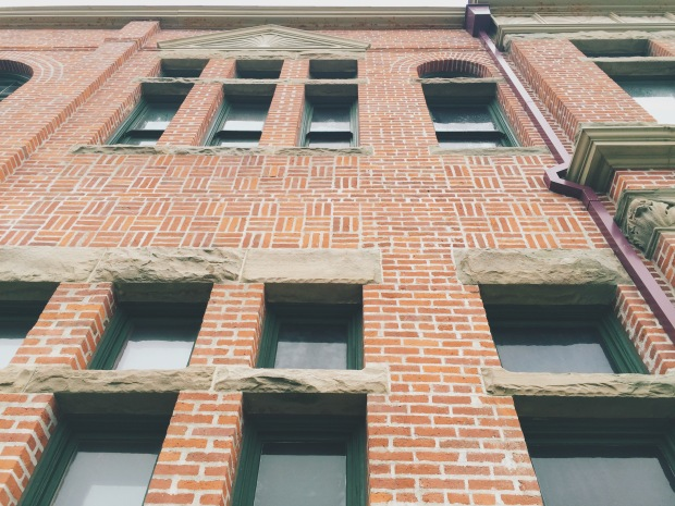 Brick building in downtown port townsend washington