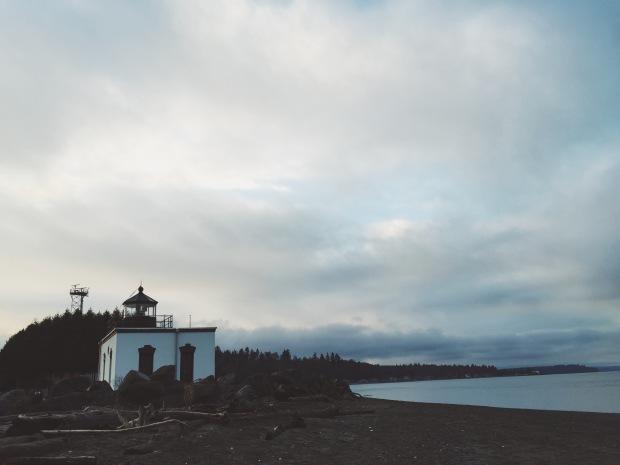 Lighthouse hansville washington point no point